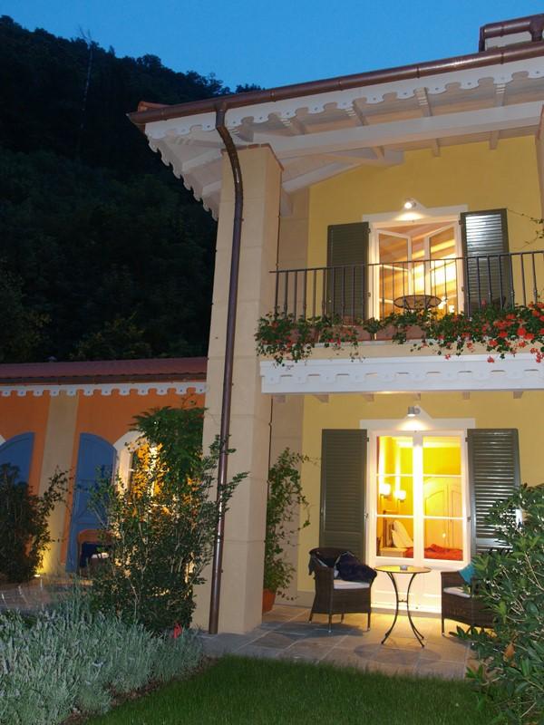 osten trifft westen renovierung luxushaus, villa belvedere hotel - cannobio, Design ideen
