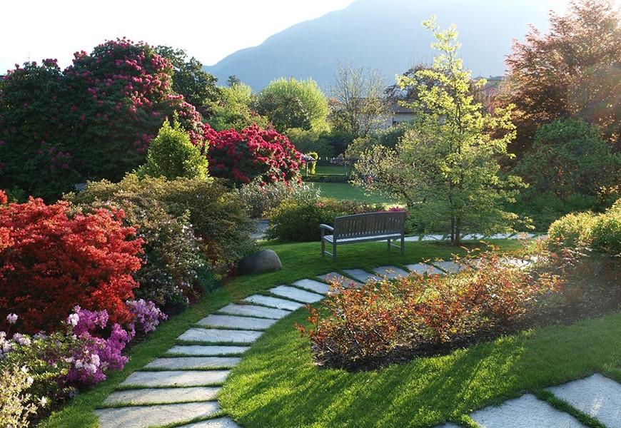 Giardino Zen Berlino : Parco secolare con giardino zen hotel villa belvedere